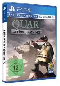 Quar, Battle for Gate 18 PSVR, 1 PS4-Blu-ray Disc
