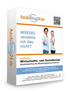 AzubiShop24.de Lernkarten Wirtschafts- und Sozialkunde (Kaufmann