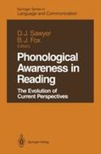 Phonological Awareness in Reading
