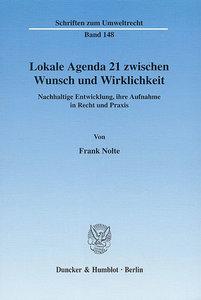 Lokale Agenda 21 zwischen Wunsch und Wirklichkeit