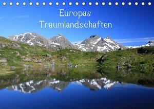 Europas Traumlandschaften (Tischkalender 2020 DIN A5 quer)