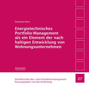 Energietechnisches Portfolio-Management als ein Element der nach