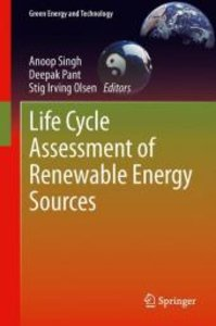 Life Cycle Assessment of Renewable Energy Sources