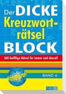 Der dicke Kreuzworträtsel-Block 06