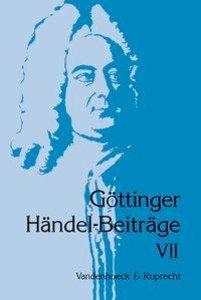 Göttinger Händel-Beiträge, Band 7