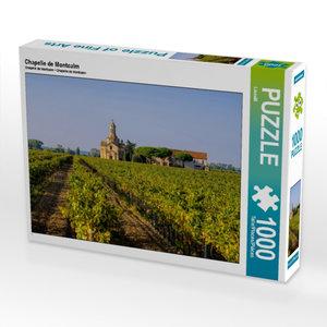 Chapelle de Montcalm 1000 Teile Puzzle quer