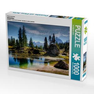 Ein Motiv aus dem Kalender dolomiten 1000 Teile Puzzle quer