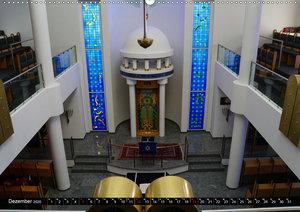 Bejt Knesset. Die Synagoge in Darmstadt (Wandkalender 2020 DIN A
