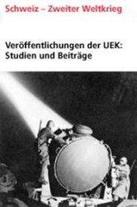Veröffentlichungen der UEK. Studien und Beiträge zur Forschung /