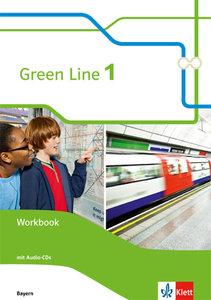 Green Line Bayern / Workbook mit Audio-CD 5. Schuljahr