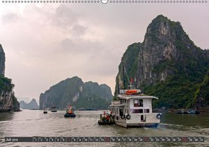 Vietnam - Zwischen Mekong und Halong Bucht (Wandkalender 2019 DI