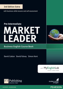Market Leader Extra Pre-Intermediate Coursebook with DVD-ROM and