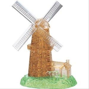 3D Crystal Puzzle - Windmühle 64 Teile