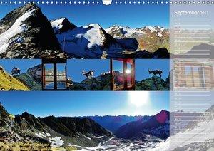 Alpenüberquerung (Wandkalender 2017 DIN A3 quer)