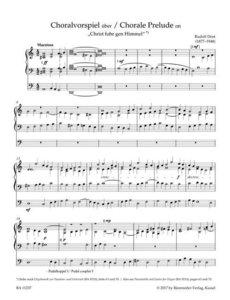 Orgelmusik zu Himmelfahrt, Pfingsten und Trinitatis