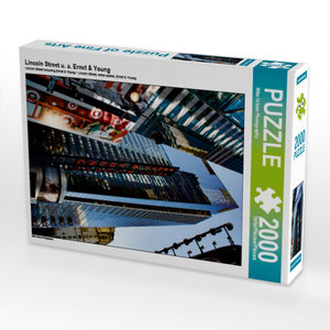 Lincoln Street u. a. Ernst & Young 2000 Teile Puzzle hoch
