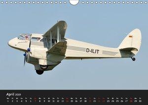 Doppeldecker - Veteranen der Lüfte (Wandkalender 2019 DIN A4 que