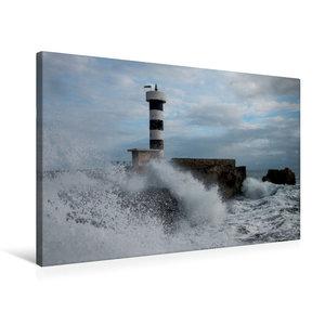 Premium Textil-Leinwand 75 cm x 50 cm quer Colònia de Sant Jordi