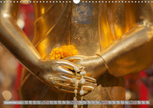 BUDDHA - Harmony and Meditation (Wall Calendar 2020 DIN A3 Lands