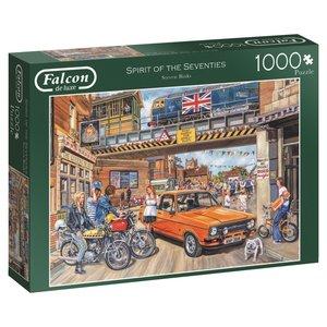 Falcon 11207 - De Luxe, Spirit of the Seventies, Puzzle, 1000 Te