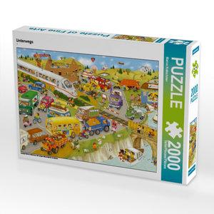 Unterwegs 2000 Teile Puzzle quer