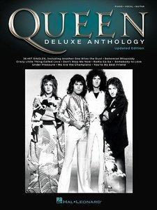 Queen Deluxe Anthology Updated Edition -For Piano, Voice & Guita