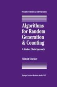Algorithms for Random Generation and Counting: A Markov Chain Ap