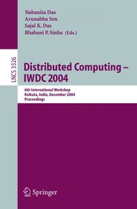 Distributed Computing -- IWDC 2004