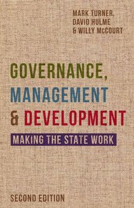 Governance, Management and Development