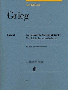 Am Klavier - Grieg
