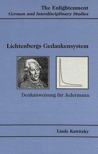 Lichtenbergs Gedankensystem