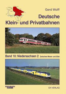 Deutsche Klein- und Privatbahnen 10/2 Niedersachsen