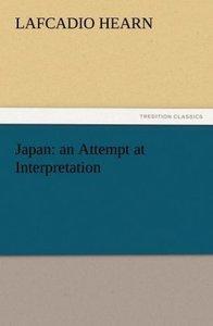 Japan: an Attempt at Interpretation