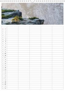 Kalifornien - Familienplaner 2020 (Wandkalender 2020 DIN A3 hoch