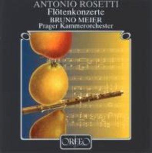 Flötenkonzerte RWV C 16/21/22/25