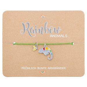 Armband - Rainbow Animails - Chamäleon