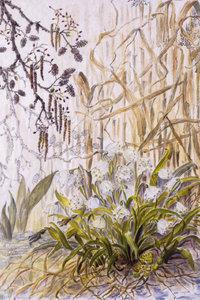 Premium Textil-Leinwand 80 cm x 120 cm hoch Inselchen im Oberla
