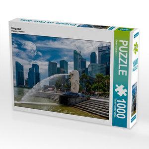 Singapur 1000 Teile Puzzle quer