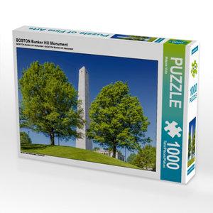 CALVENDO Puzzle BOSTON Bunker Hill Monument 1000 Teile Lege-Größ