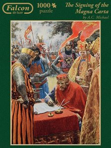 Falcon - The Signing of the Magna Carta. Puzzle 1000 Teile