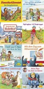 Pixi-Bücher Serie 210: Mit Pixi unterwegs. 64 Exemplare
