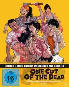 One Cut of the Dead, 1 Blu-ray + 2 DVDs (Mediabook)
