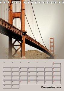 Herrliches Reiseziel... SAN FRANCISCO (Tischkalender 2019 DIN A5