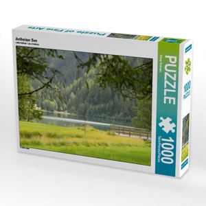 Antholzer See 1000 Teile Puzzle quer