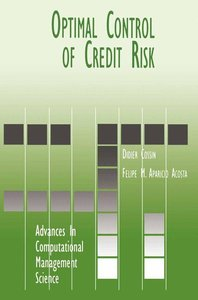 Optimal Control of Credit Risk