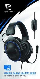 PIRANHA GAMING HEADSET HP100, Gaming-Kopfhörer