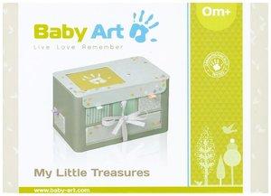 Baby Art My little Treasures Schatzkiste grau