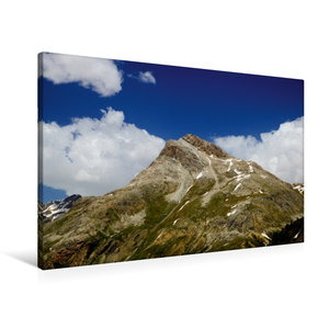 Premium Textil-Leinwand 90 cm x 60 cm quer Piz Alv