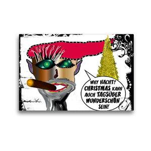 Premium Textil-Leinwand 45 cm x 30 cm quer Weihnachten