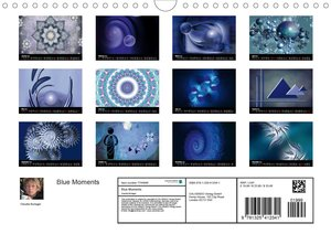 Blue Moments (Wall Calendar 2020 DIN A4 Landscape)